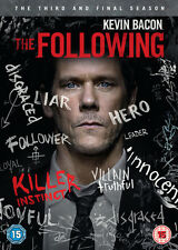 The Following Complete Season 3 DVD Region 2 UK 1st Class Delivery
