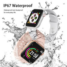 F10 smart watch monitor heart rate blood pressure waterproof full touch screen