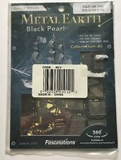 Metal Earth BLACK PEARL Pirate Ship 3D Jigsaw Puzzle Micro Model NEW