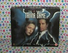 The X Files Trivia VHS video board game - COMPLETE- retro-vintage- collectible!!
