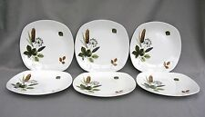 A set of 6 Midwinter Riverside dinner plates 9.5 inches - John Russell