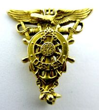1923 UNITED STATES NAVAL ACADEMY SWEETHEART PIN RING 14K GOLD NOT SCRAP