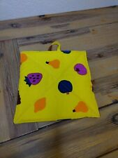 Marimekko Suomi Finland Potholder Kitchen Grabber Yellow Fruits