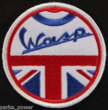 UK Wasp Mod Sew on Patch, Vespa, Scooterists, England