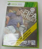 FIFA STREET (XBOX 360) BRAND NEW AND SEALED PROMO DISC FAST FREE SHIPMENT