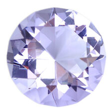 40mm Purple Crystal Glass Cut Diamond Paperweight Wedding Decoration Ornament ti