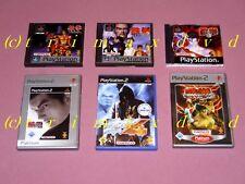 Tekken 1 & Tekken 2 & Tekken 3 Tekken & Tag Tournament & Tekken 4 & Tekken 5