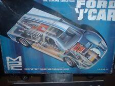 "VINTAGE IMC 501-200 FORD GTP ""J"" car RARE!!! clear body GT40 lemans prototype"