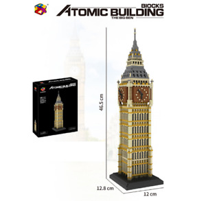 Bausteine PZX-9920 London Big Ben Uhr Gebäude Spielzeug Modell ovp 3660PCS