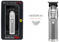 BaByliss PRO FX787S SILVERFX Skeleton Outlining T-Blade Cordless Silver Trimmer