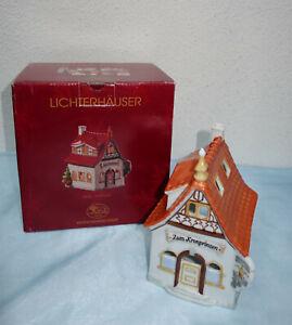 """Lichterhaus Hutschenreuther Weihnachten Gasthaus""""Zum Kronprinzen"""""""