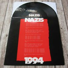 "ROGER TAYLOR : Nazis 4 UK 12"" PROMO Vinyl Single 1994 Record 12 RDJS 6379 Queen"