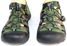 Womens Keen Camo & Brown Newport H2 Waterproof Hook & Loop Fasten Sandals 6M
