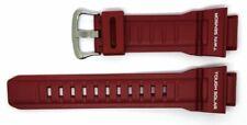 Bracelets de montre rouges Casio