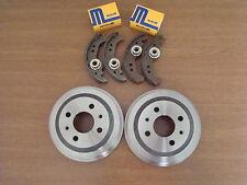 2 x Bremstrommel + Bremsbacken + Radbremszylinder KIA Picanto 1,0 / 1,1