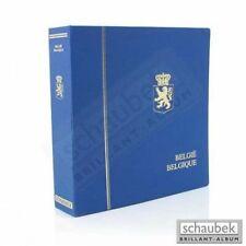 Schaubek KOA-802/03B Album Belgien 1970-1989 Brillant im geprägten Leinen-Schrau