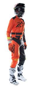 NEW ALPINESTARS 2021 RACER COMPASS RACE KIT ORANGE ANTHRACITE WHITE MX MOTOCROSS
