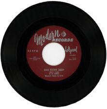 "Etta James con Maxwell Davis & Orq. ""Good Rockin 'papá C/W el Wallflower"""