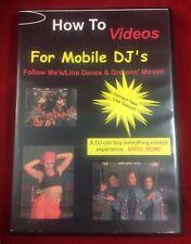 Mobile DJ Follow Me's / Line Dance  Groovin' Moves (DVD, 2002) Very Good