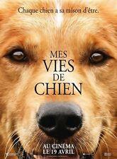 Affiche Pliée 120x160cm MES VIES DE CHIEN (A DOG'S PURPOSE) 2017 Robertson NEUVE