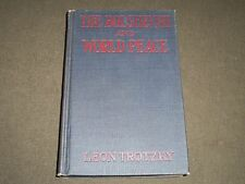 1918 THE BOLSHEVIKI AND WORLD PEACE BY LEON TROTZKY BOOK - II 3763