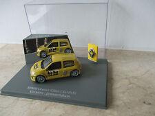 Modellauto RENAULT Clio sport TROPHY Maßstab 1:43