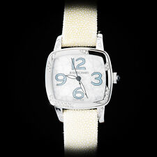"Jean Richard Milady ""Air"" High Jewelry Ladies' Automatic. Diamonds. MOP."