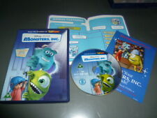 Monsters, Inc. (DVD, 2002 &BOUNUS FEATURES LEAFLET AND LEAFLET