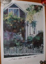 JOAN COBB MARSH Signed Print of a Cape Cod House to GEORGE BRYANT Provincetown