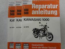 Reparaturanleitung, Buch, KAWASAKI Z 1000 , KZT00A ab 1976,  Band 568/569
