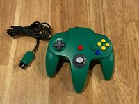 NUS-005 Official OEM Authentic N64 Nintendo 64 Controller Solid Green Bros