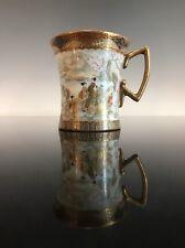Antique Japanese Satsuma Kutani Tea Cup Signed Kitagawa