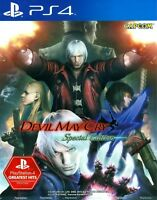 Devil May Cry 4 Special Edition Asia English etc subtitle PS4 BRAND NEW