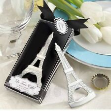 Silver Beer Favors Party Gift Beverage Favor Bottle Eiffel Tower Cap Opener