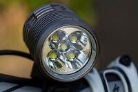 Ugoe NB19-01 4000 lumen LED Bike light 5 x CREE XML L2 LED's