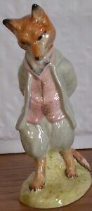 Beatrix Potter Foxy Whiskered Gentleman Figurine England