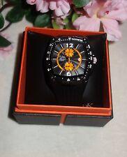 Adee Kaye Mens Miyota Chronograph Quartz Movement watch AK4009-M-BLK new