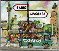 CD DIGIPACK 7T + CLIP PARIS KINSHASA EXPRESS DE 2013 NEUF SCELLE