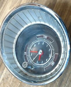 1965 Buick Clock Reconditioned, Oil temp amp gauge Lesabre Wildcat Electra
