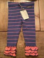 New Matilda Jane Striped Leggings Size 18-24 Months