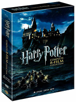 Harry Potter: Complete 8-Film Collection Gift (DVD, 2011, 8-Disc Box Set) NEW