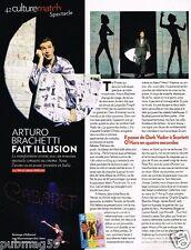 Coupure de Presse Clipping 2010 (1 page) Arturo Brachetti