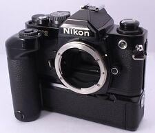 Ausgezeichnete +++ Nikon NEU FM2 FM2N 35mm SLR Filmkamera mit MD-12 aus Japan