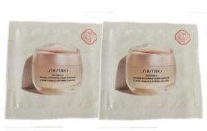 Shiseido Benefiance Wrinkle Smoothing Cream Enriched 1.5ml. Sealed Sample 2 Pack