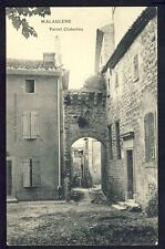 Carte Postale Ancienne 84 - MALAUCÈNE (Vaucluse) Porte CHABERLIN Vierge Gothique