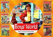 Boys World Comics (Complete) & Other UK Comics On DVD Rom