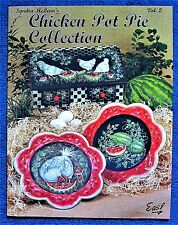 Chicken Pot Pie Collection 2 Painting Pattern Book Sandra McLean Animals -Unused