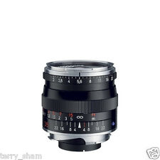 New Carl Zeiss Biogon T* 35mm F2 ZM Wide Angle Lens Black Leica M M9 M8.2
