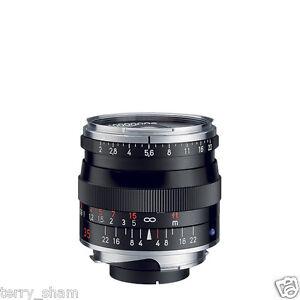 Brand New Carl Zeiss Biogon T* 35mm F2 ZM Wide Angle Lens Black Leica M M9 M10