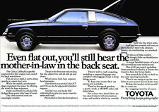 TOYOTA CELICA LIFT BACK RETRO POSTER A3 PRINT FROM CLASSIC 70'S ADVERT
